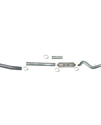 "Flo Pro 4"" Stainless Turbo Back Exhaust"